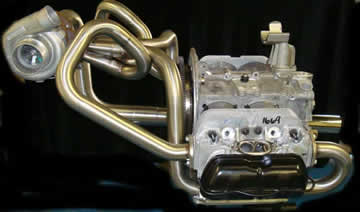 Midmount turbo header