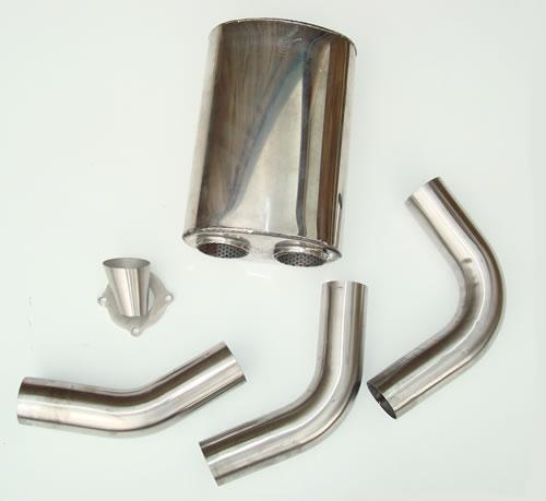 Turbo muffler kit
