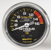 Carbon Fibre NITROUS PRESSURE 0-1600 PSI 52mm