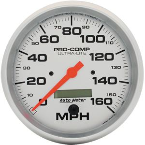 Speedometer, 160-MPH, In-Dash Mount