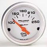 Ultralite OIL TEMP 100-250 f  2 1/16 in