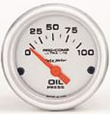 Ultralite OIL PRESSURE 0-100 PSI 2 5/8 in
