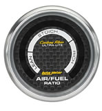 Carbon Fibre Air Fuel gauge