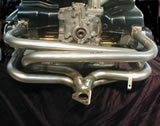 Full stainless 4 into 1 Manifold for heat exchangers - 1 1/2""